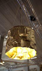 Goldrush- valaisin (vanhasta tynnyristä)