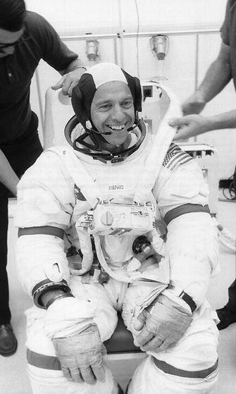 Apollo 14 komentaja Alan B. Shepard, Jr.