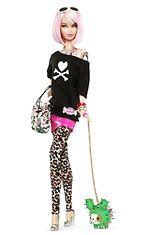 2011: Italialainen Tokidoki tuunasi Barbie-nuken uuteen Japani-henkiseen ulkonäköön: sähäkkä pinkki polkkatukka, leopardilegginsit, korkokengät ja useita tatuointeja.