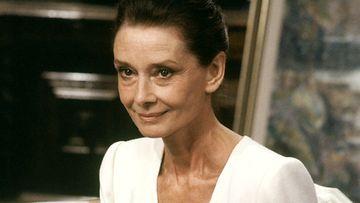 Näyttelijätär, filmitähti Audrey Hepburn Suomessa UNICEFin hyvän tahdon lähettiläänä 22. toukokuuta 1988.