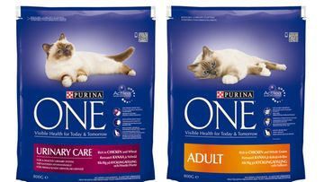 Purina ONE Urinary Care ja  Adult Kana ja kokojyvävilja