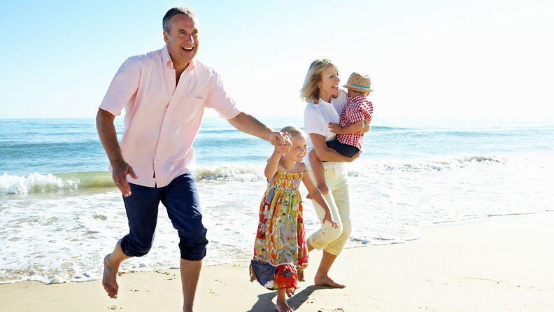 3G-matkailussa perhe matkustaa useassa sukupolvessa.