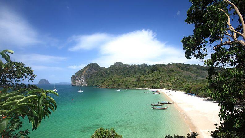 Koh Mook -saari sopii rauhoittumiseen.