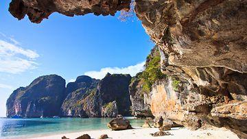 Maya Bay Phi Phi -saarella.