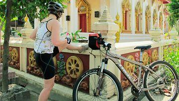 Tunnelmia pyörämatkalta Thaimaassa