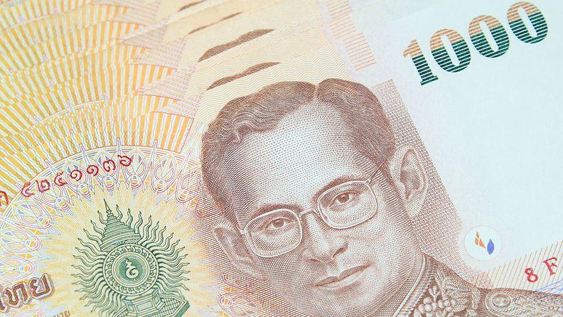 Kunnioita myös thaimaalaista rahaa.