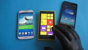 Samsung Galaxy S4, Lumia 1020 ja uusi Padfone