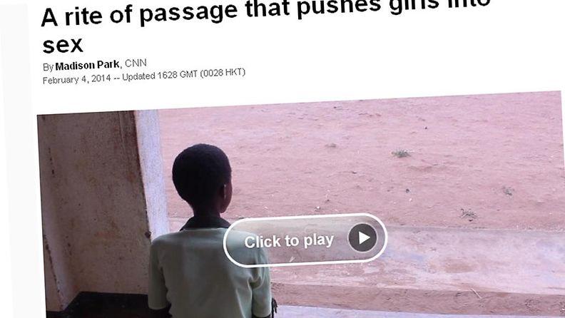 Kuvakaappaus CNN:n sivuilta.