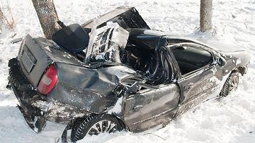 auto-onnettomuus