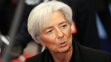 Director of the International Monetary Fund (IMF), Christine Lagarde, arrives for a European Finance Minister's Meeting on Greece at the European Council headquarters in Brussels, Belgium, 09 February 2012.