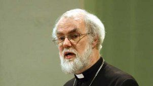 Aglikaanisen kirkon päämies Rowan Williams