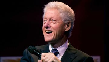 Presidentti Bill Clinton.