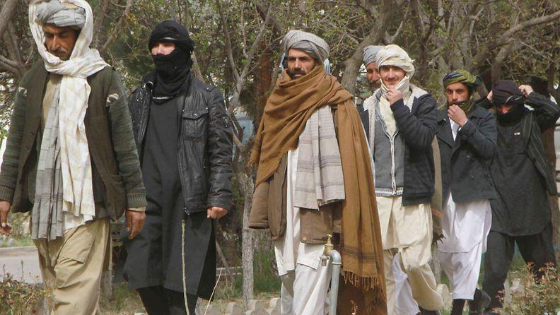Talebanit ovat taistelleet Afganistanin hallitusta vastaan vuodesta 2001.