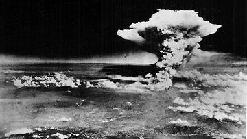 Hiroshiman ydinpommi oli voimakkuudeltaan 20 kilotonnia. Kuva: EPA.