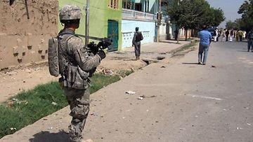 Yhdysvaltain sotilas Afganistanissa. (EPA)