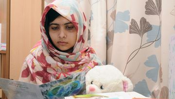 A handout photo, dated 07 November 2012, and provided by the University Hospitals Birmingham NHS Foundation Trust on 28 December 2012, shows 15-year old Pakistani shooting victim Malala Yousufzai, who is recovering in Queen Elizabeth Hospital in Birmingham, Britain. The Simone de Beauvoir Prize for Women's Freedom in 2013 was awarded to this Pakistani youth activist for the right to education, described as 'Symbol of the struggle for the education of girls,' when it was announced on 28 December in Paris by its organizers. It will be presented next 09 January 2013 in Paris. The 20,000 euros price Simone de Beauvoir, created in 2008 to commemorate the 100th anniversary of the French writer's birth, recognizes individuals and organizations that struggle to protect women's rights wherever they are threatened. It states Malala Yousafzai, 15, had been shot in the head on Oct. 9 during an attack targeted the Taliban Movement of Pakistan (TTP), which have disrupted million people abroad. She is currently treated in B