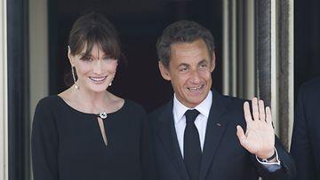 Nicolas Sarkozy ja Carla Bruni.