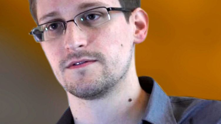 Video frame grab provided by The Guardian shows Edward Snowden