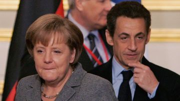 Angela Merkel ja Nicolas Sarkozy.