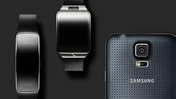 Samsung Galaxy S5, Gear 2 -älykello ja Gear Fit-ranneke