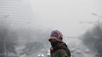 Kiina saasteet savusumu sumu ilmansaaste Peking