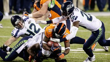 Super Bowl XLVIII Denver Broncos vastaan the Seattle Seahawks