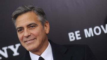 "George Clooney,  ""The Monuments Men"" -elokuvan New Yorkin ensi-ilta."