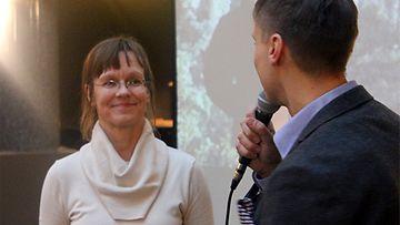 Sari Pöyliö haastateltavana 22.1.2014