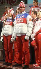 Venäjän joukkueen Sotshi-asut.