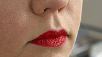 Joe Blascon kouluttaja ja konsulentti Milla Stenmanin tekemä huulimeikki