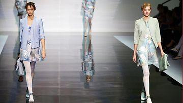 Emporio Armani - Runway - Milan Fashion Week, kevät-kesä 2014