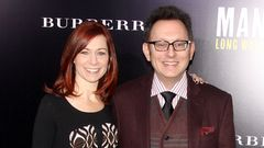 Michael Emerson ja Carrie Preston