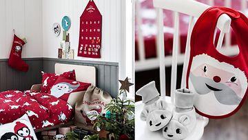 Lapsen huone kannattaa sisuistaa punaisin elementein. Kuvat: H&M Home