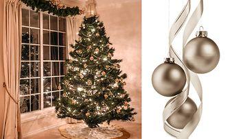 Joulukuusen voi koristella pastellin värein. Kuvat: Shutterstock.