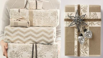 Paketoi lahjat upeisiin lahjapapereihin. Kuvat:The White Company.