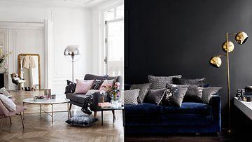 Lamput muokkaavat huoneen ilmettä. Kuvat: H&M Home.