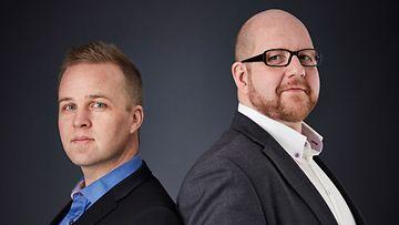 Saku Hautala ja Mika Laurikainen