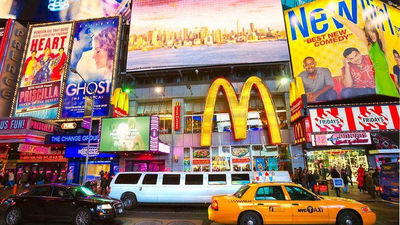 McDonald's -ravintoloita voi bongata useasta kolkasta ympäri maailmaa, muttei vielä ihan kaikkialta.