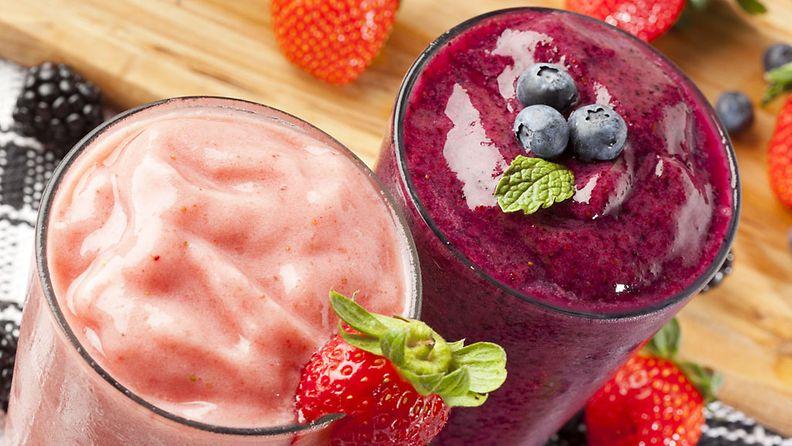 Raikas smoothie voi sisältää yllättävän paljon kaloreita.