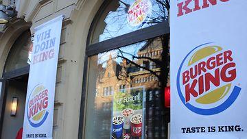 Helsingin Mannerheimintien Burger King 13.12.2013.