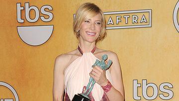 Cate Blanchett nautti SAG-gaalassa.