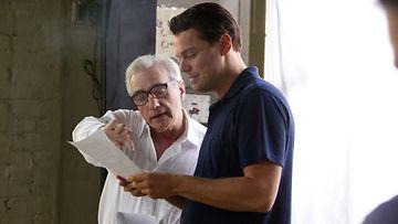 Martin Scorsese ohjaasi The Wolf of Wall Street -elokuvan.