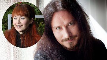 Tuomas Holopainen kertoi asuneensa Johanna Kurkela kanssa viiden vuoden ajan.