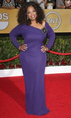 Oprah hehkui Screen Actors Guild -gaalassa.