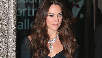 Catherine edusti upeana Lontoossa.