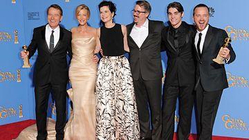 Breaking Bad sai palkinnon parhaasta draamasarjasta.
