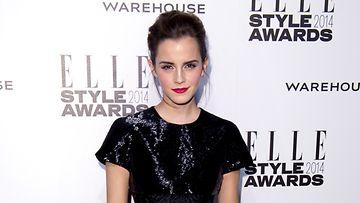Ihastuttava Emma Watson jakaa Oscar-palkinnon.