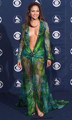 Jennifer Lopez Grammy-gaalassa 2000.