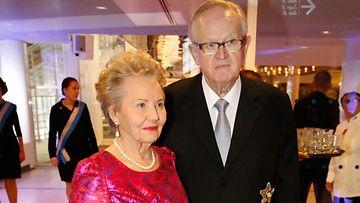 Eeva ja Martti Ahtisaari.