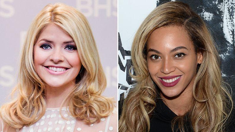 Holly ja Beyoncé sijoittuivat kärkikahinoihin kyselyssä.